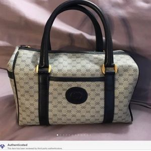 Gucci Small G Vintage Doctor's Satchel - GORGEOUS!